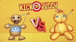 Игрушка АНТИСТРЕСС vs. КУКЛА ВУДУ Уничтожь любым способом - Kick the Buddy