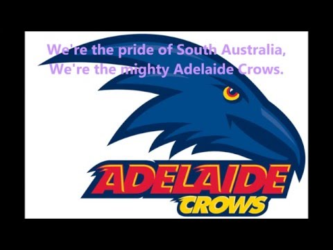Adelaide Crows theme song (Lyrics) AFL Sing-A-Long