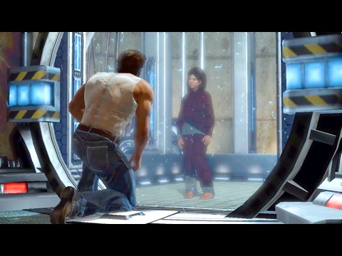 Logan and Anna Escape from Weapon X Facility (X-Men Origins: Wolverine)