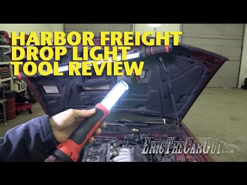 Harbor Freight Drop Lights Tool Review -EricTheCarGuy