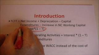 Free Cash Flow to Firm Example