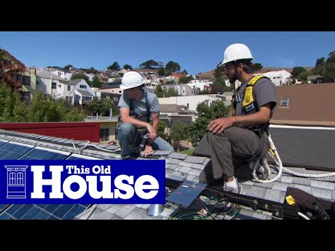 How to Install Solar Panels – This Old House