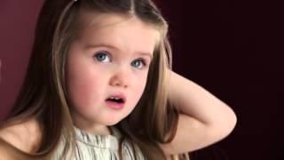 Saçlarını Kanserli Çocuklar İçin Bağışlayan 3 Yaşındaki Sevimli Kız