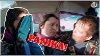 Jano je zgrabila panika! Si je premislila skočiti s padalom!? ''Jaz bi šla dol, ne morem!''