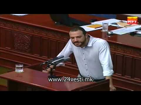 ВМРО ДПМНЕ повторно ја окупираше говорницата - Џафери повика обезбедување 11 08