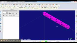 mastercam basic milling lesson 02 - oreinting a part.mp4
