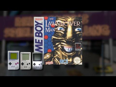 Gameplay : The Lawnmower Man [Gameboy]