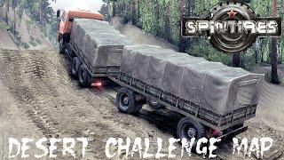 SPIN TIRES 2014 mod map Desert Challenge