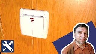 ✅ УСТАНОВКА ВЫКЛЮЧАТЕЛЯ: как установить и подключить выключатель двухклавишный / Мелкий ремонт