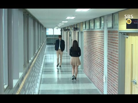 Lee Min Ho - Park Shin Hye came by without knowing each other (heirs 9)
