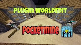 PocketMine php7 World Edit plugin
