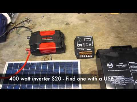 High Quality $150 Portable Solar Generator Components