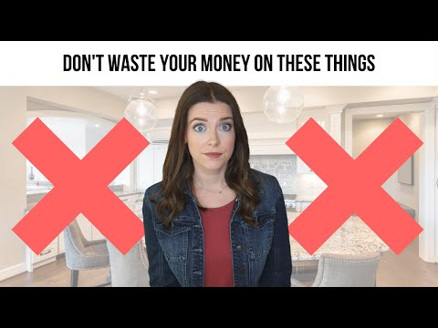 New Construction Design Center Tips: Don't Waste Your Money on These