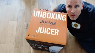JUlaVie Juicer Unboxing (previously known as Juisir)