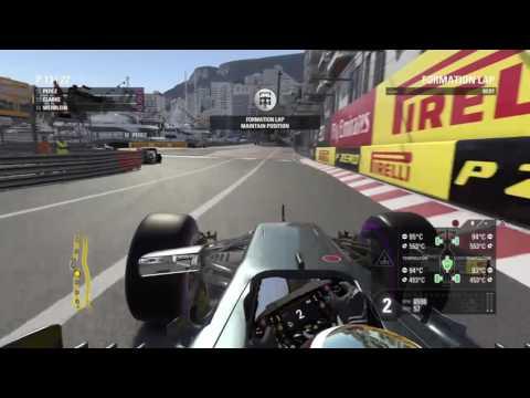 F1 2016 career Monaco, WHO SAYS NO OVERTAKES!