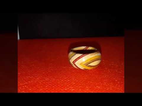 DIY recycled skateboard ring