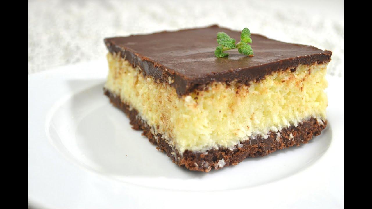 Ciasto Bounty Bez Pieczenia Jak Zrobić Smakowite Dania Youtube
