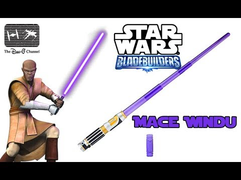 Star Wars Revenge Of The Sith Mace Windu Lightsaber Review Build Your Own Lightsaber Youtube