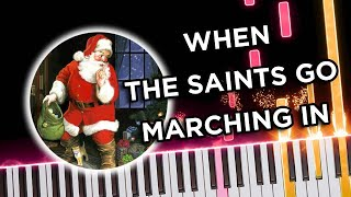 When the Saints Go Marching In - Jazz Piano Solo Tutorial