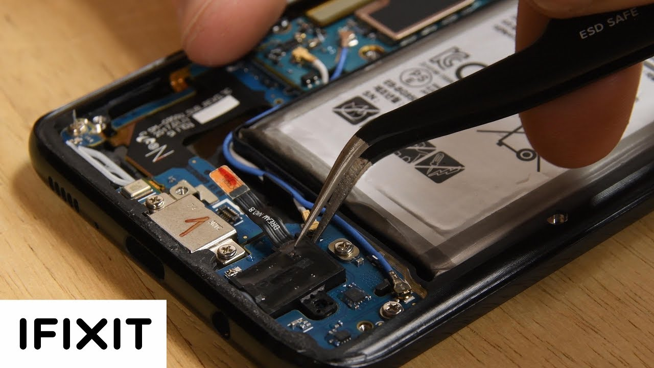How To Replace The Headphone Jack In Your Samsung Galaxy S8 Youtube Wiring