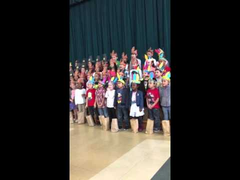 Cucamonga Elementary Thanksgiving Performance 2015