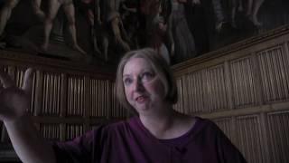 Hilary Mantel visits the Hampton Court Palace