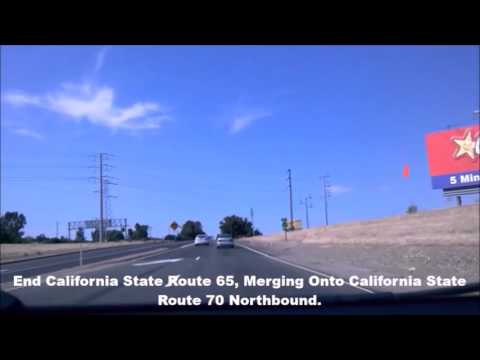 California State Route 65 / 70 Northbound And California State Route 20 Eastbound