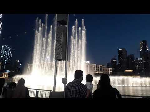 Dubai Fountain Show 2020