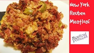 New York Reuben Meatloaf Made From Pastrami | Meatloaf Princess