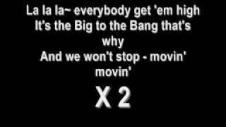 la la la - big bang english lyrics