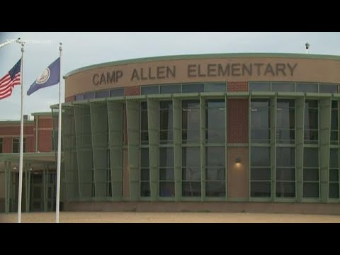 Camp Allen Elementary School dedication celebrates grant for new school facility