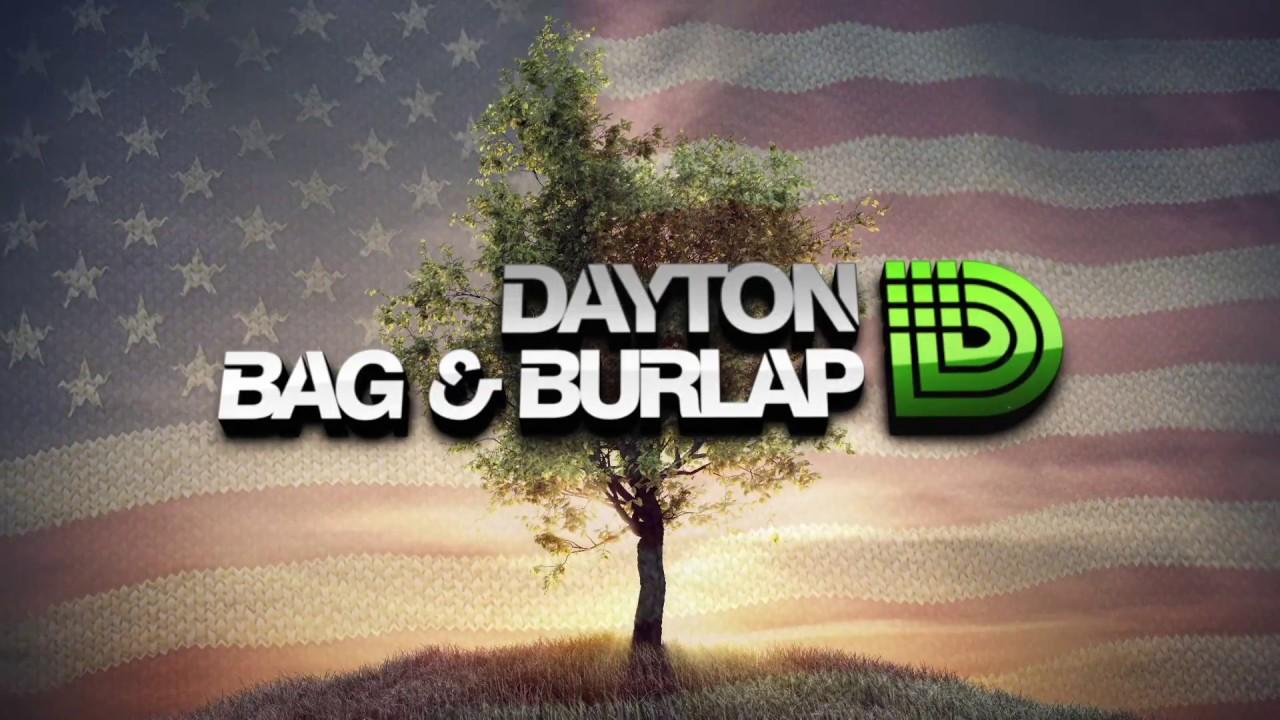 We Re Here Dayton Bag Burlap You