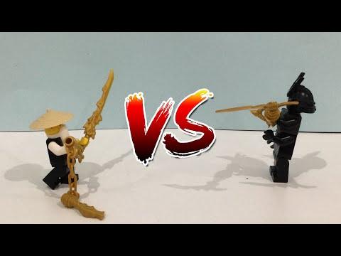 Wu vs garmadon