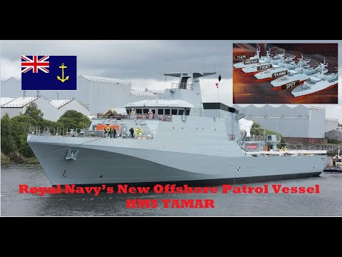 God News: Royal Navy's New Offshore Patrol Vessel  HMS TAMAR