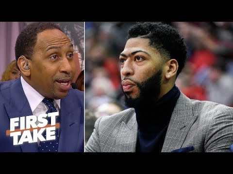 Gregg Popovich advising Pelicans not to cave to Lakers on Anthony Davis 鈥� Stephen A. | First Take
