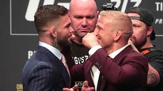 UFC 217: Cody Garbrandt vs. T.J. Dillashaw Staredown - MMA Fighting