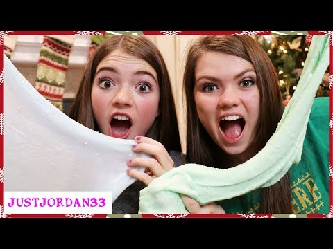 BACKWARDS SLIME CHALLENGE - Holiday Edition / JustJordan33
