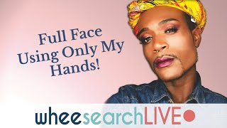 Full Face Using Only My Hands!!!