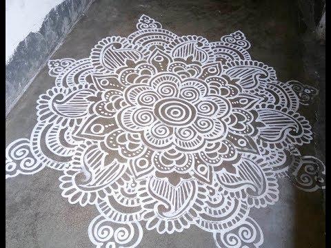 Alpana Design, Jhoti Chita No-4, Manabasa Gurubara Alpana Design