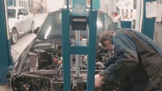 Восстановительный процесс BMW E34 в Raceport