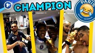 Les folles célébrations du PSG après la finale contre Monaco