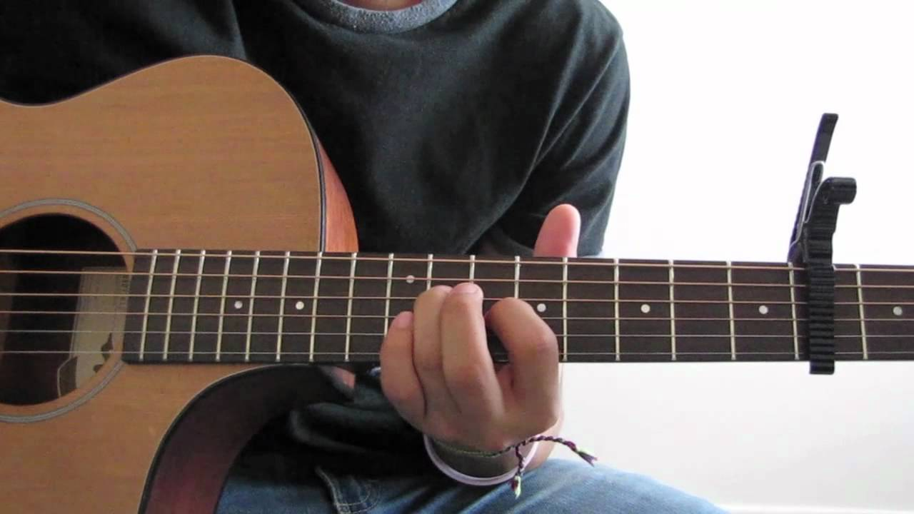 Beloved Guitar Tutorial By Tenth Avenue North Youtube