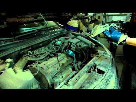 Заливка масла, замер уровня масла, запуск двигателя Шевроле Круз Chevrolet Cruze