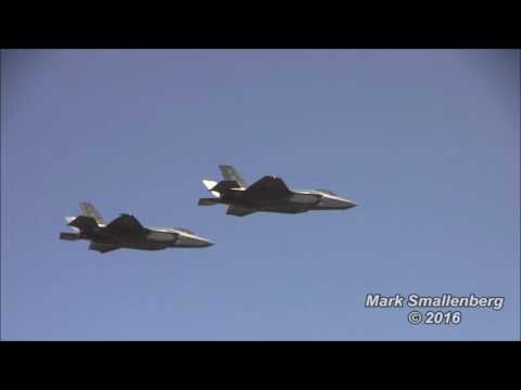 F-35A Canadian debut - Abbotsford Airshow 2016