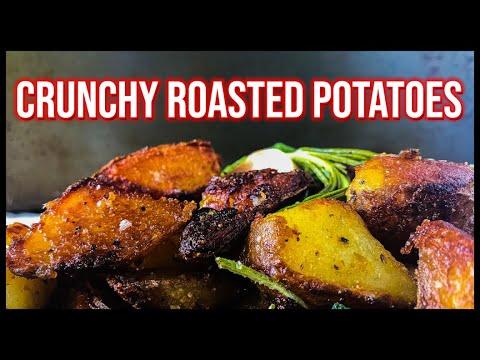 crunchy-roasted-potatoes- -oven-roasted-potatoes-recipe