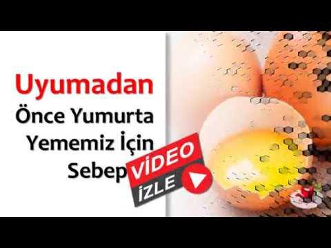 Uyumadan önce Yumurta Yememiz Için Sebepler Youtube