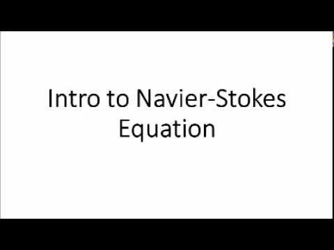 BMED 3310: Navier-Stokes Equation