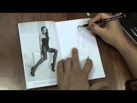 Praxis Zeichnen 3: Das Übungsbuch zum Freihand Zeichnen, Thema: Nylon Fashion