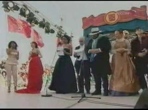 Pavarotti and Klaus Meine