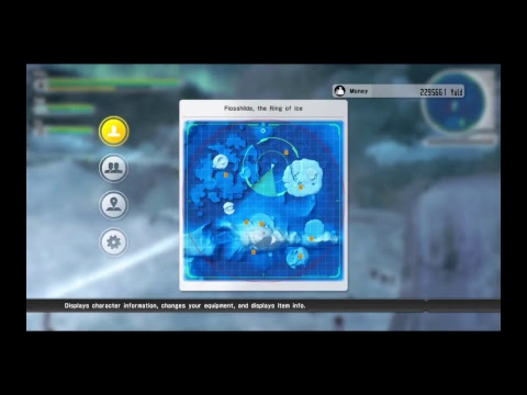Sword art online Lost Song: The ring of ice battle